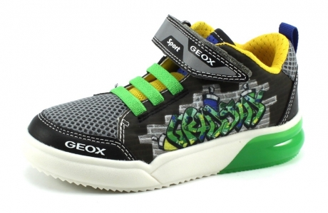 Geox J GrayJay Zwart GEO85