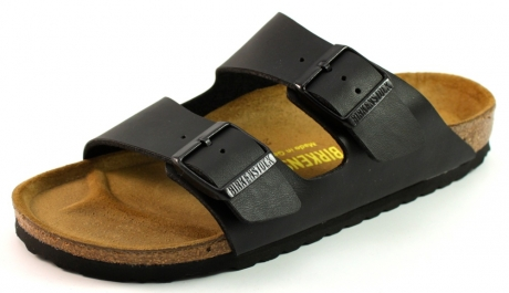 Image of Birkenstock Arizona Slippers Zwart Bir19