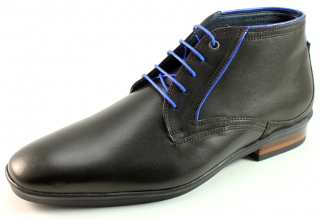 Floris van Bommel 10703 schoenen half hoog Zwart BOM12