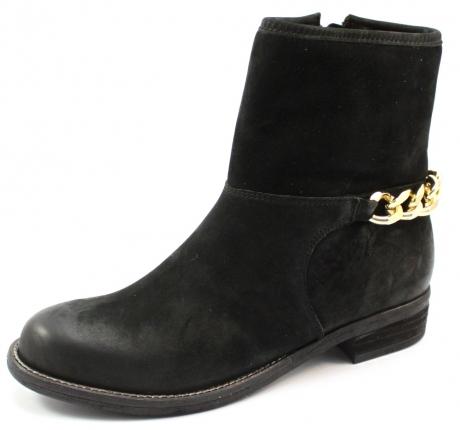 Nubikk laarzen online Leva Zwart NUB01