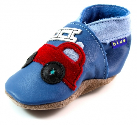 Inch Blue babyslofjes online Firetruck Blauw INC03