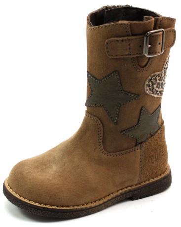 Clic laarzen online 8623 Beige - Khaki CLI48