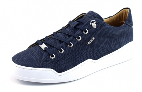 Hinson Allin City Low sneaker Blauw HIN04