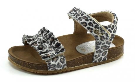 Clic 8969 sandaal Zwart/wit CLI48