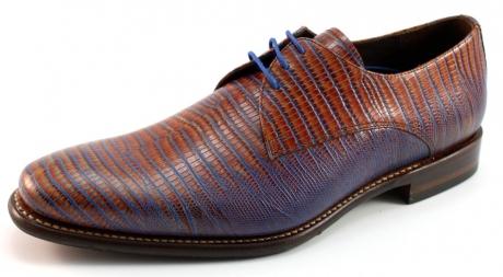 Floris van Bommel 14384 geklede schoenen Cognac BOM20