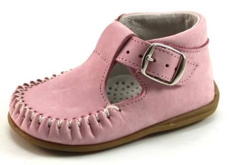 Bardossa babyschoenen online Kiba Roze BAR92