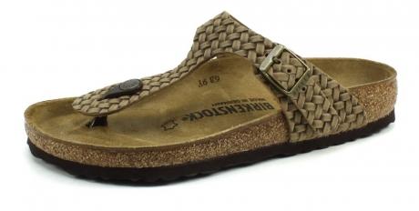 Birkenstock online slippers Gizeh Bruin BIR44