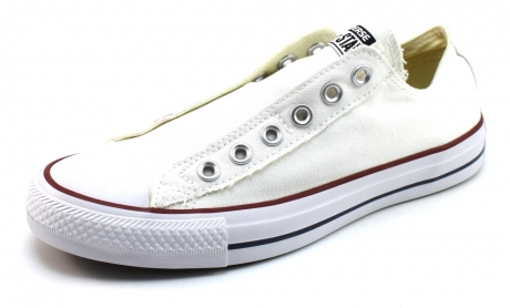 Converse slip on sneaker Wit ALL33