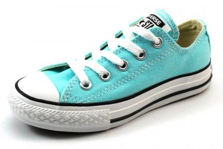 Converse All Stars lage sneaker kids Licht blauw CON53