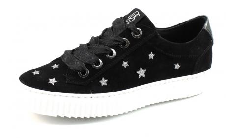 DLSport 3876 sneaker Zwart DLS17