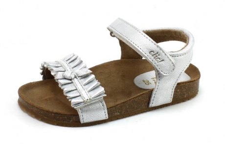 Clic 8969 sandaal Zilver CLI25