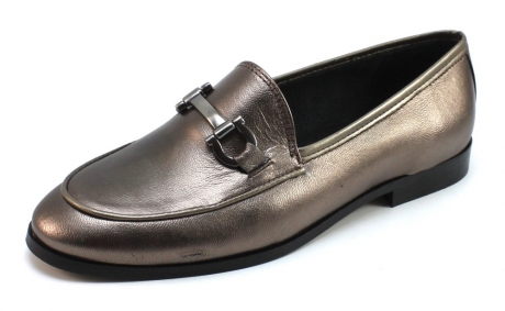 Image of Shoecolate 652733 Loafer Goud Cho48