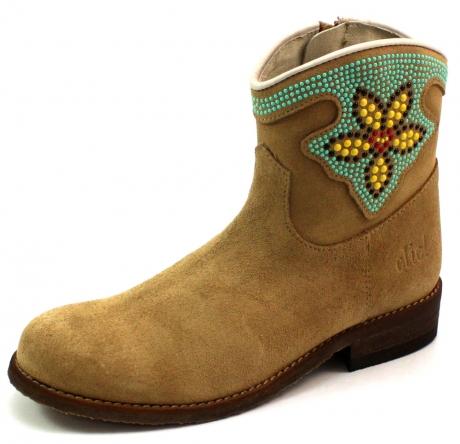 Clic laarzen 8754 Beige / Khaki CLI55