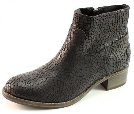 shabbies amsterdam 250142 laarzen zwart sha06