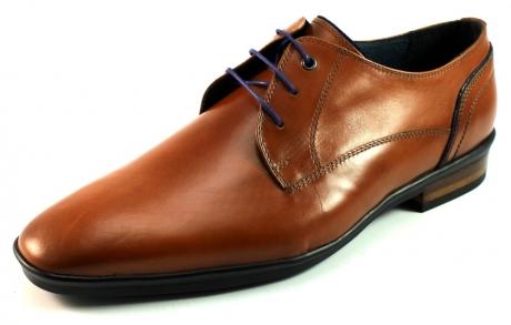 Floris van Bommel 14499 geklede schoenen Cognac BOM08