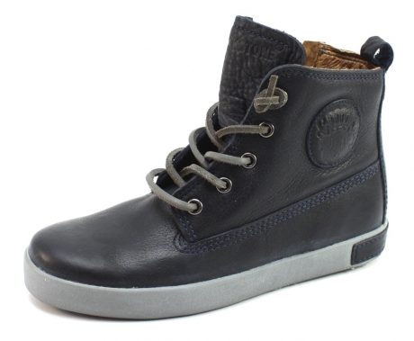 Image of Blackstone Ck02 Veterschoenen Blauw Bla33