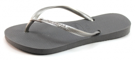 Image of Havaianas Slippers Slim Crystal Glamour Grijs Hav22