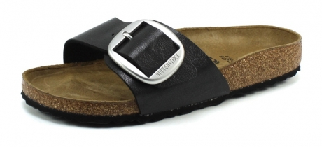 Birkenstock Madrid Big Buckle Zwart BIR39