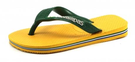Havaianas slippers Kids Brasil logo Ochre, Geel HAV41