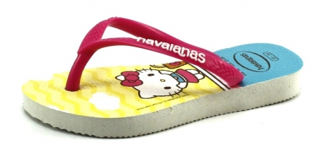 Havaianas Kids Slim Hello Kitty Ochre, Geel HAV13
