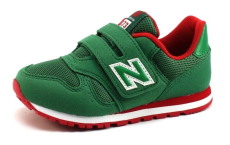 Image of New Balance 373 Kids Sneaker Olive New35