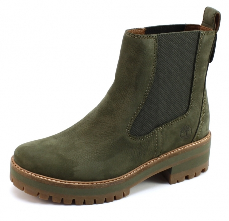 Timberland Courmayeur Valley Chelsea laars Olive TIM87