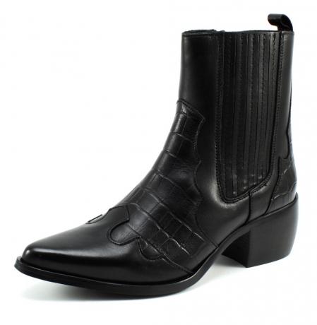 ShoeColate 8.10.08.001 enkellaars Zwart CHO95