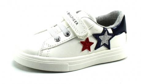 Tommy Hilfiger T1A4-30611 sneaker Wit TOM42