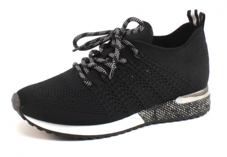 Image of La Strada 1802649 Sneaker Zwart Las47