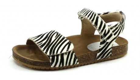 Clic CL-Grass sandal Zwart/wit CLI47