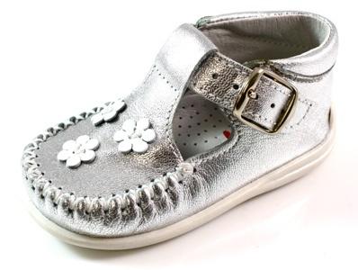 Bardossa babyschoenen Bores Zilver BAR05