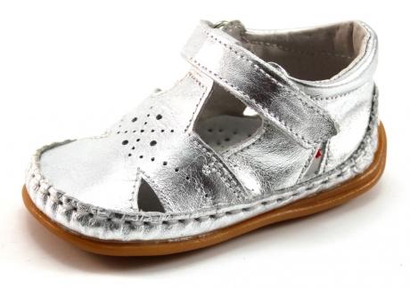 Bardossa Punto babyschoenen Zilver BAR71