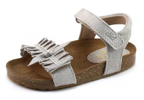 Clic 8969 Kinder sandaal Zilver CLI05