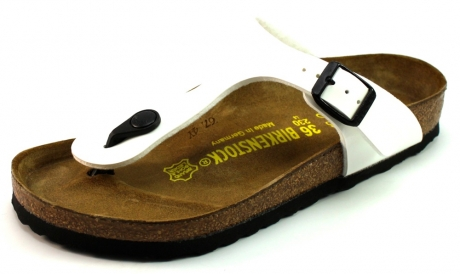 Birkenstock online slippers Gizeh Wit BIR05