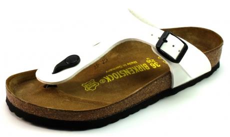 Image of Birkenstock Online Slippers Gizeh Wit Bir05