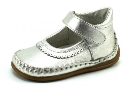 Bardossa Bibi babyschoenen Zilver BAR74