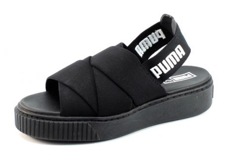 Puma platform sandaal Zwart PUM77x