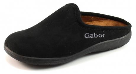 Gabor Pantoufles Noir hf5nw