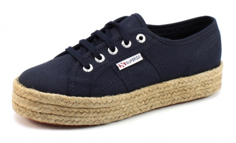 Image of Superga Sneakers 2730 Cotropew Blauw Sup15