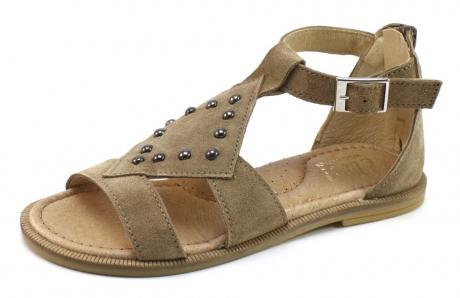Clic 9121 kinder sandaal Khaki CLI09