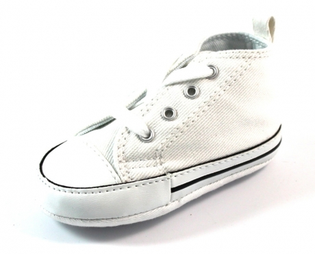 Converse babyschoenen online First Star Wit ALL26