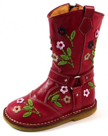 Zecchino d'Oro online laarzen A06-4654 crepe Rood ZEC29