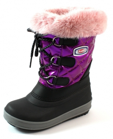 Olang Magic snowboots online Fuchsia OLA15