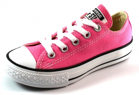 Converse All Stars lage sneaker kids Roze ALL01