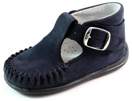 Bardossa babyschoenen online Kiba Blauw BAR35