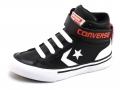 Converse Pro Blaze kindersneaker zwart, blauw, grijs en bruin