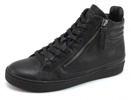 aQa A4642 hoge sneaker Zwart AQA38