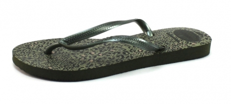 Image of Havaianas Slim Animals Olive Hav76