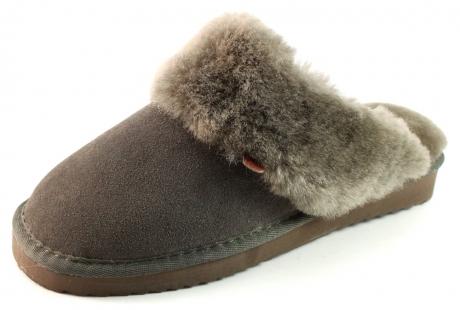 Warmbat Australia pantoffels flurry LSFL01 Grijs WAR01