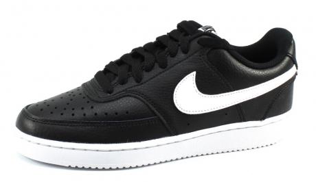 Nike Wmns Court Vision Low Zwart NIK18